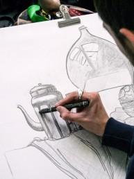 Rockland's art prep school Prep.art trains students for art design and cinema undergraduates.