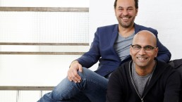 Clement Derock and Frederic Lalande, Founders of Rockland (Seenk, HiJack, Ecole Intuit Lab, Prep.art & Intuit Pro)